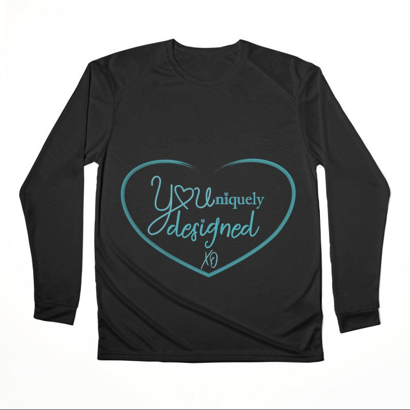 Designed to be YOU and Unique Women's Longsleeve T-Shirt by MyInspirationalGifts Artist Shop