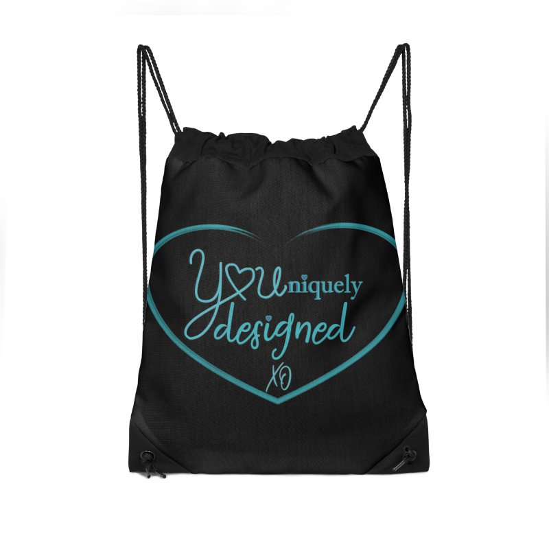 Designed to be YOU and Unique Accessories Bag by MyInspirationalGifts Artist Shop