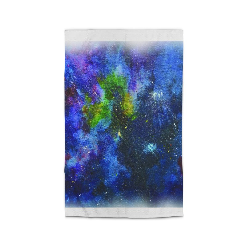A Splash of Nebular Home Rug by MyInspirationalGifts Artist Shop