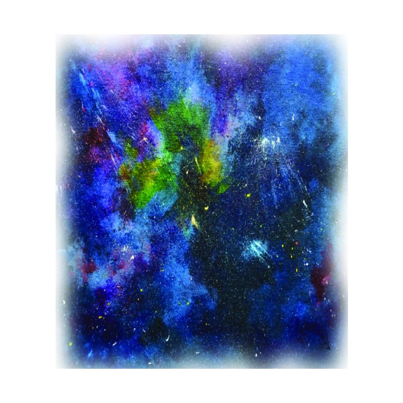 A Splash of Nebular Home Blanket by MyInspirationalGifts Artist Shop