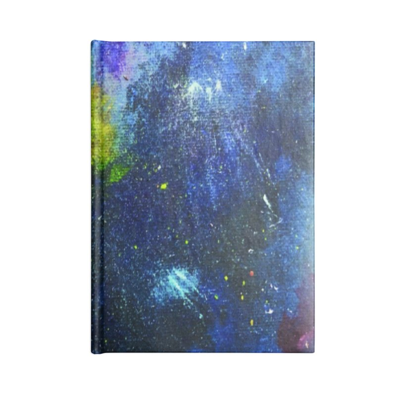 A Splash of Nebular Accessories Lined Journal Notebook by MyInspirationalGifts Artist Shop