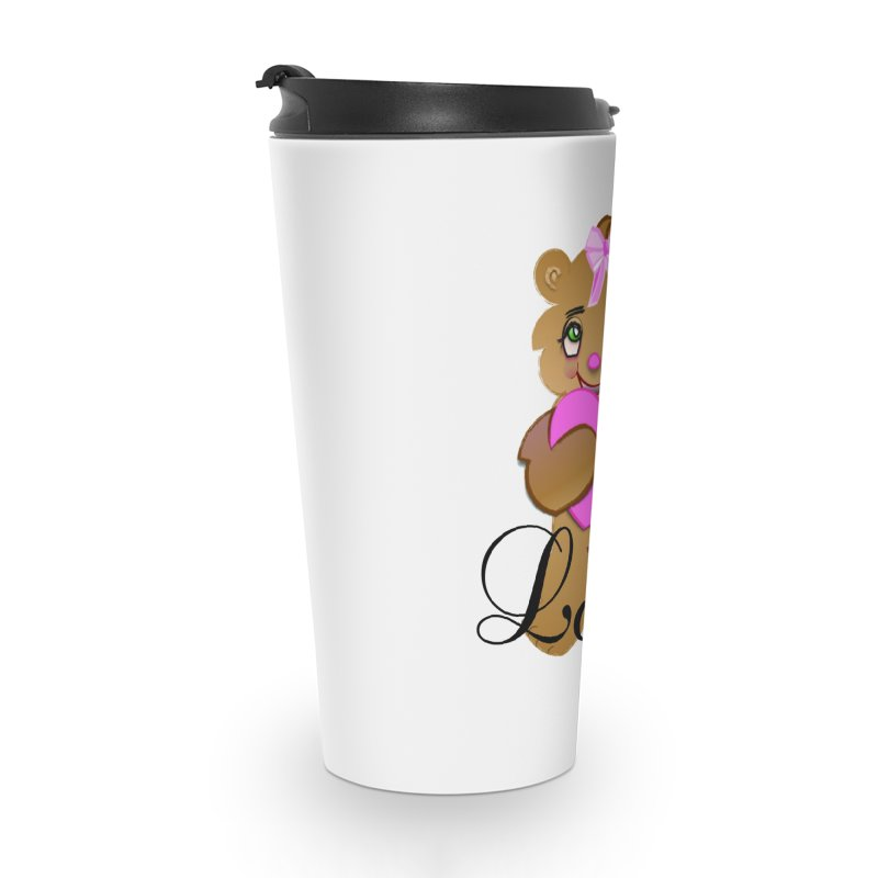Beary Loved Accessories Travel Mug by MyInspirationalGifts Artist Shop