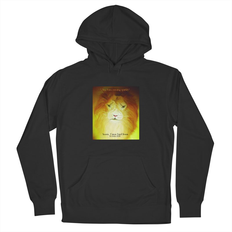 Revelation 22:20 Men's French Terry Pullover Hoody by MyInspirationalGifts Artist Shop