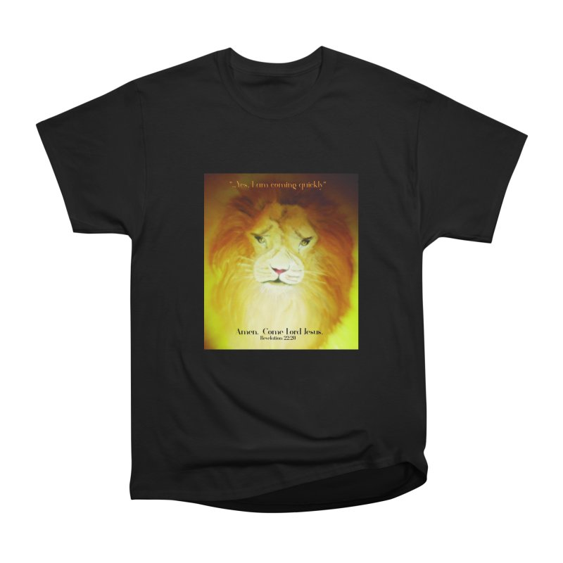 Revelation 22:20 Men's Heavyweight T-Shirt by MyInspirationalGifts Artist Shop
