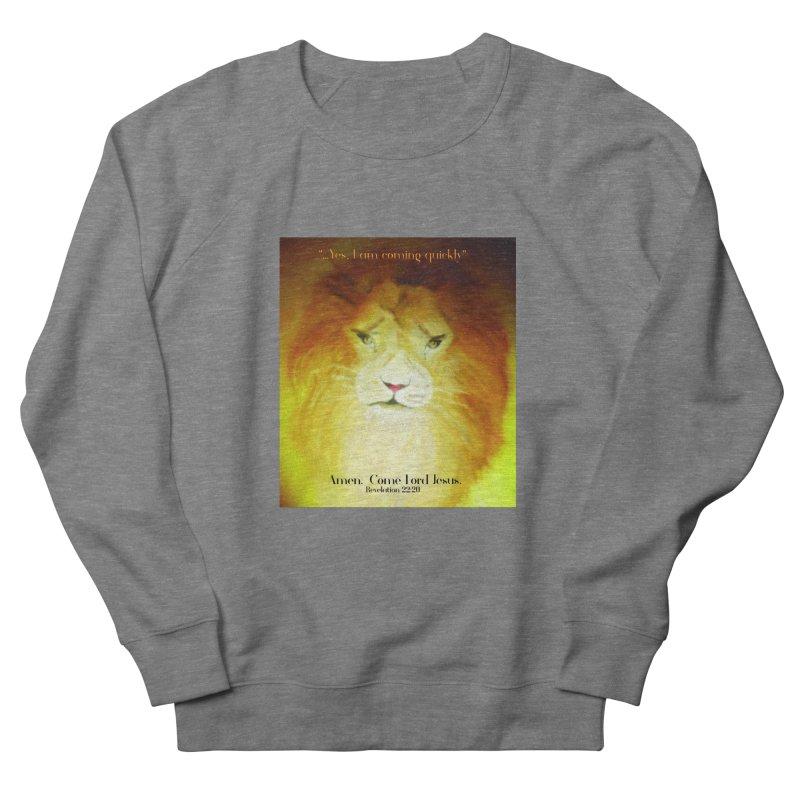 Revelation 22:20 Men's French Terry Sweatshirt by MyInspirationalGifts Artist Shop