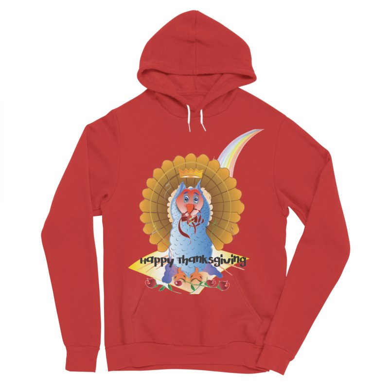Prize Turkey Women's Sponge Fleece Pullover Hoody by MyInspirationalGifts Artist Shop