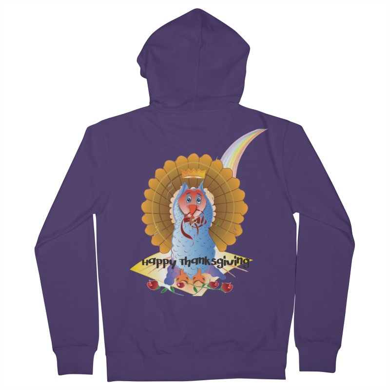 Prize Turkey Women's French Terry Zip-Up Hoody by MyInspirationalGifts Artist Shop