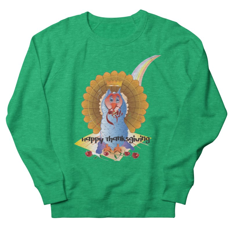 Prize Turkey Women's French Terry Sweatshirt by MyInspirationalGifts Artist Shop