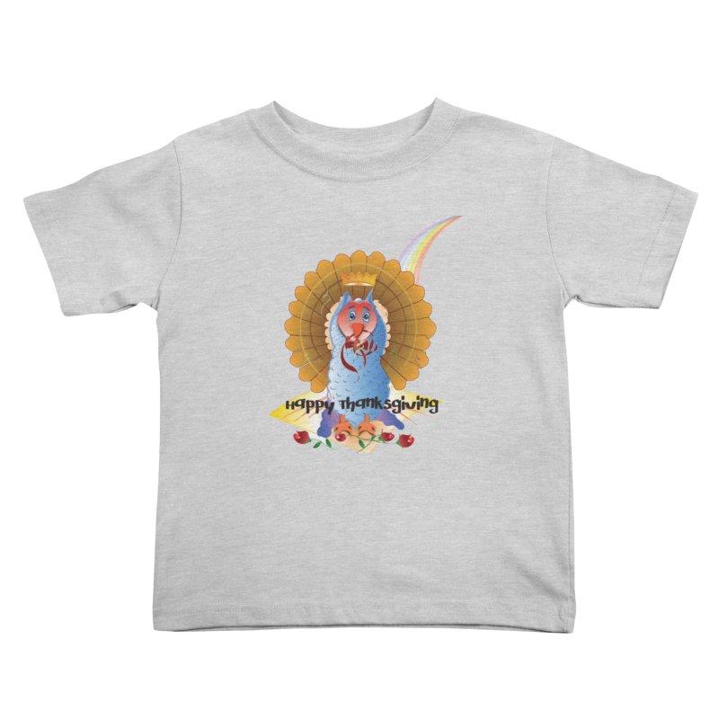 Prize Turkey Kids Toddler T-Shirt by MyInspirationalGifts Artist Shop