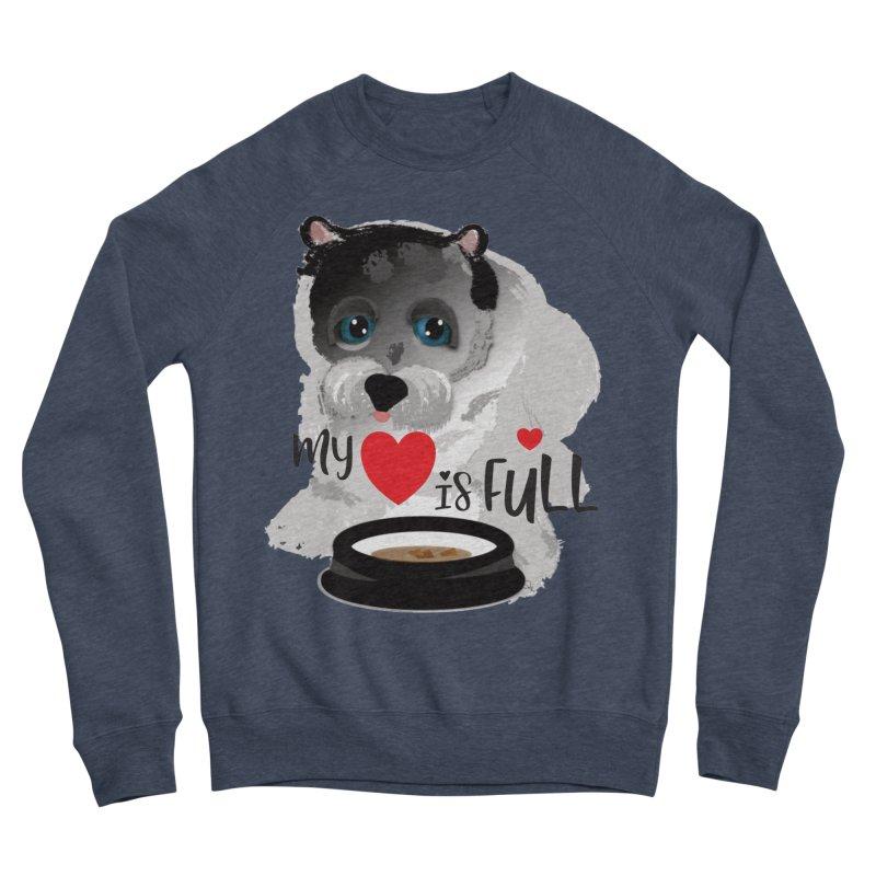 My Heart is Full Women's Sponge Fleece Sweatshirt by MyInspirationalGifts Artist Shop