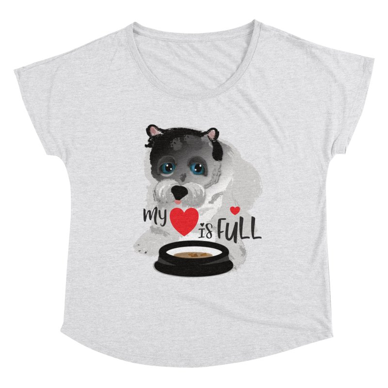My Heart is Full Women's Scoop Neck by MyInspirationalGifts Artist Shop
