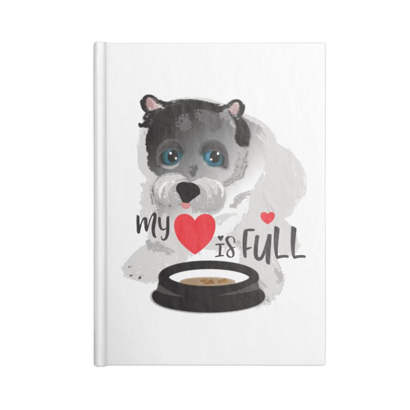 My Heart is Full Accessories Lined Journal Notebook by MyInspirationalGifts Artist Shop