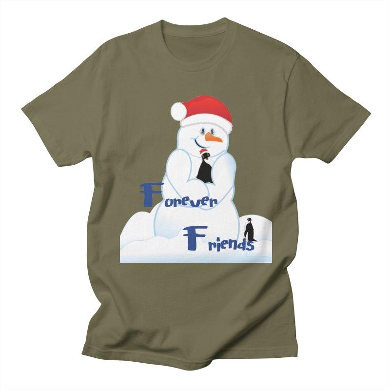Forever Friends Women's Regular Unisex T-Shirt by MyInspirationalGifts Artist Shop