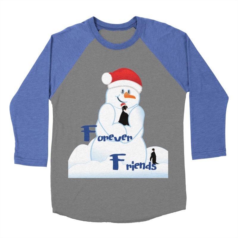 Forever Friends Women's Baseball Triblend Longsleeve T-Shirt by MyInspirationalGifts Artist Shop