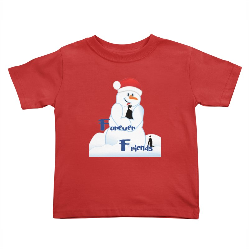 Forever Friends Kids Toddler T-Shirt by MyInspirationalGifts Artist Shop
