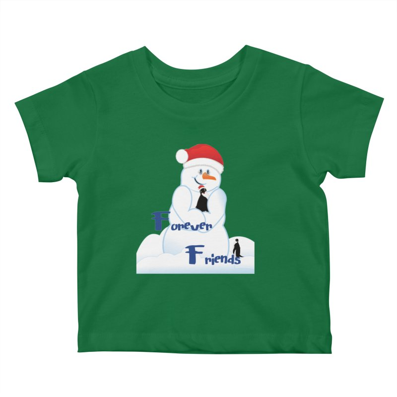 Forever Friends Kids Baby T-Shirt by MyInspirationalGifts Artist Shop