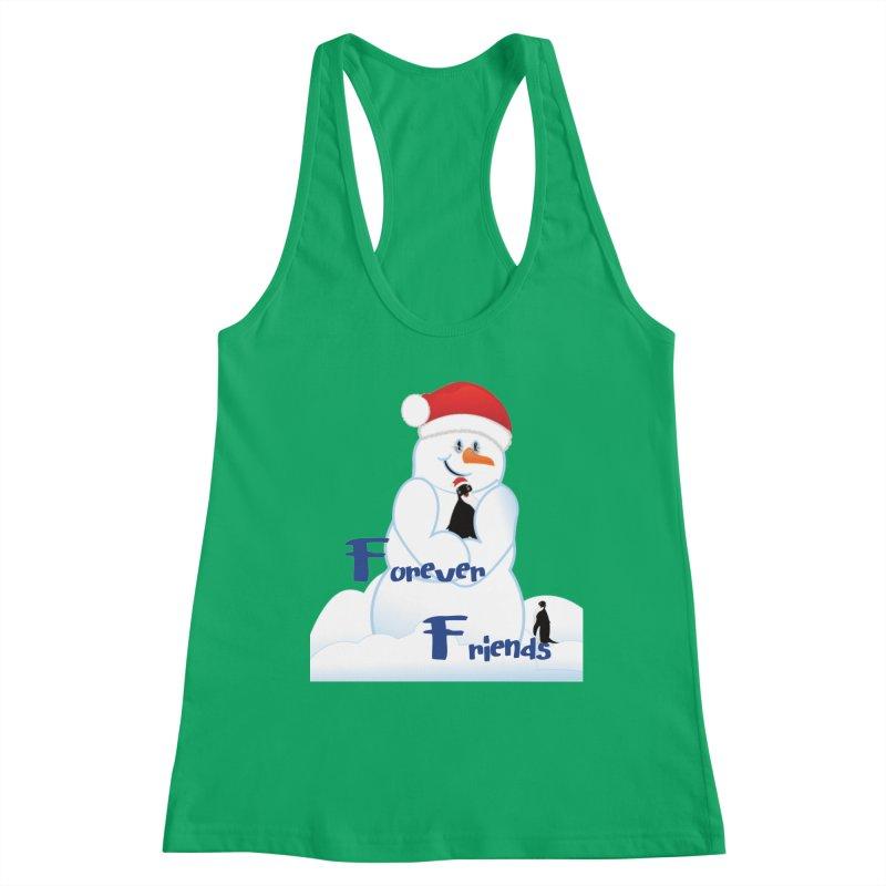 Forever Friends Women's Racerback Tank by MyInspirationalGifts Artist Shop