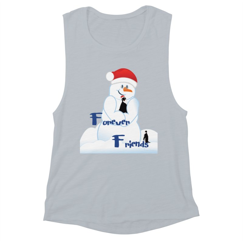 Forever Friends Women's Muscle Tank by MyInspirationalGifts Artist Shop