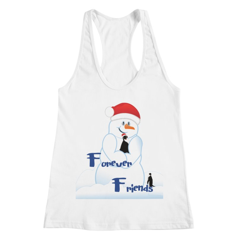 Forever Friends Women's Racerback Tank by MyInspirationalGifts Artist Shop