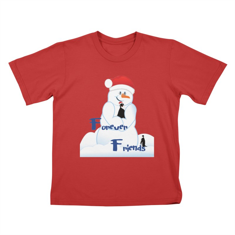 Forever Friends Kids T-Shirt by MyInspirationalGifts Artist Shop