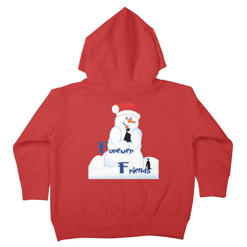 Forever Friends Kids Toddler Zip-Up Hoody by MyInspirationalGifts Artist Shop