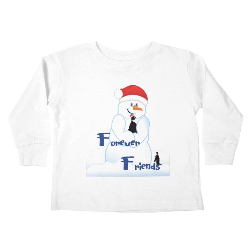 Forever Friends Kids Toddler Longsleeve T-Shirt by MyInspirationalGifts Artist Shop