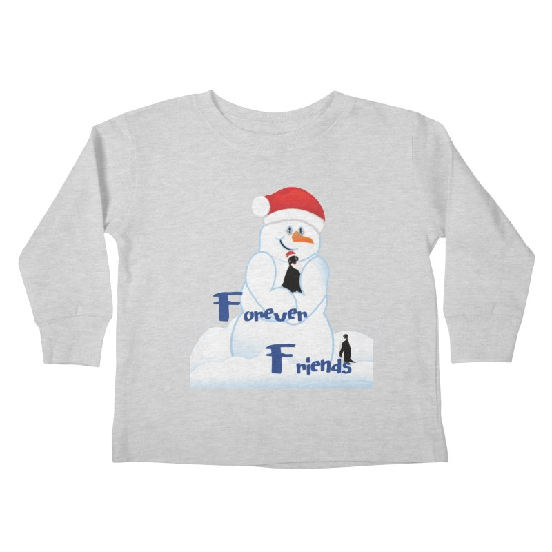 Forever Friends Kids Toddler Longsleeve T-Shirt by MyInspirationalGifts Artist Shop