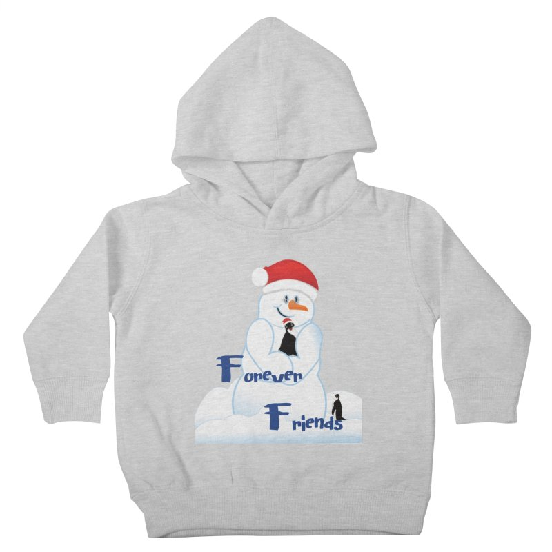 Forever Friends Kids Toddler Pullover Hoody by MyInspirationalGifts Artist Shop