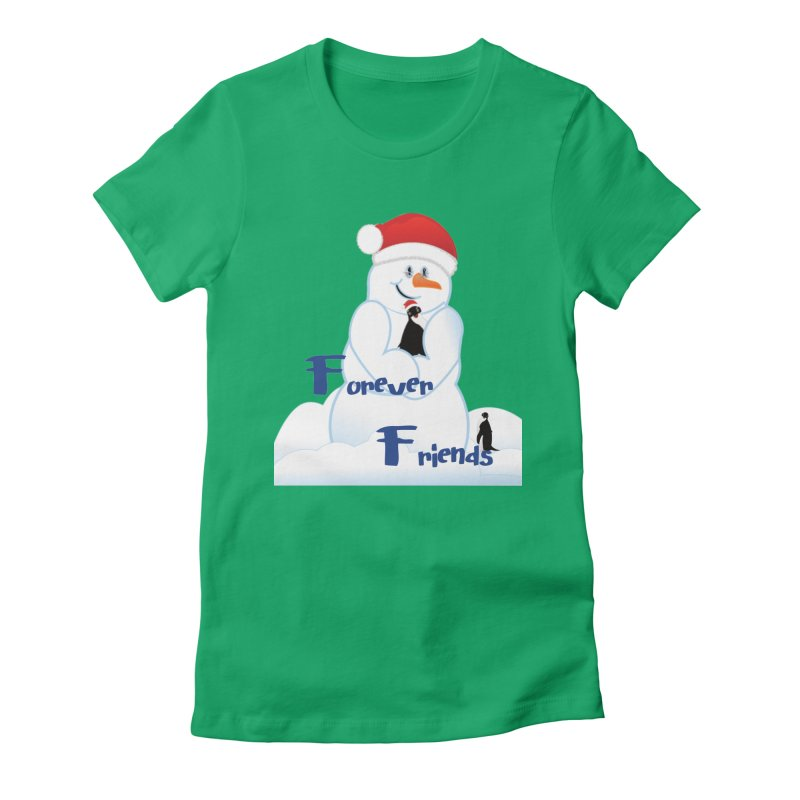Forever Friends Women's Fitted T-Shirt by MyInspirationalGifts Artist Shop