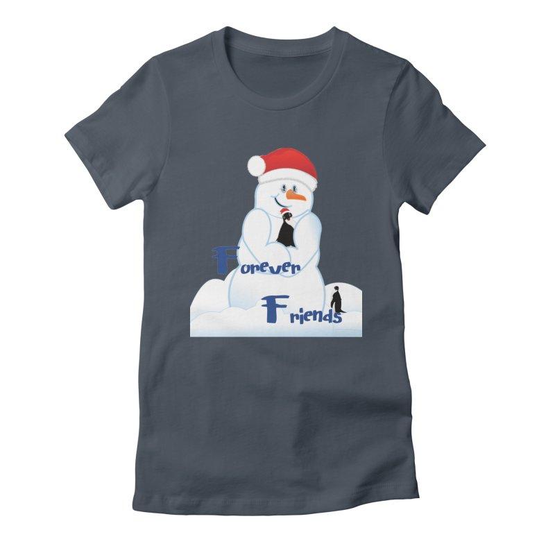 Forever Friends Women's T-Shirt by MyInspirationalGifts Artist Shop