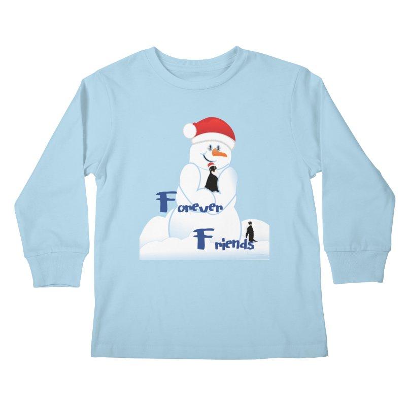 Forever Friends Kids Longsleeve T-Shirt by MyInspirationalGifts Artist Shop