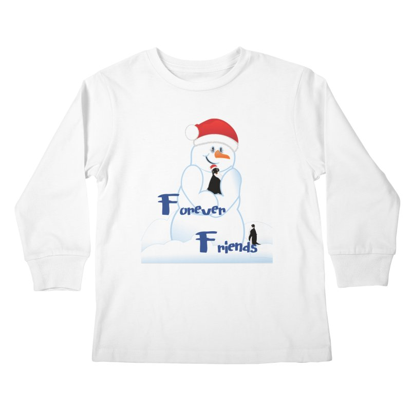 Forever Friends Kids Longsleeve T-Shirt by MyInspirationalGifts Artist Shop
