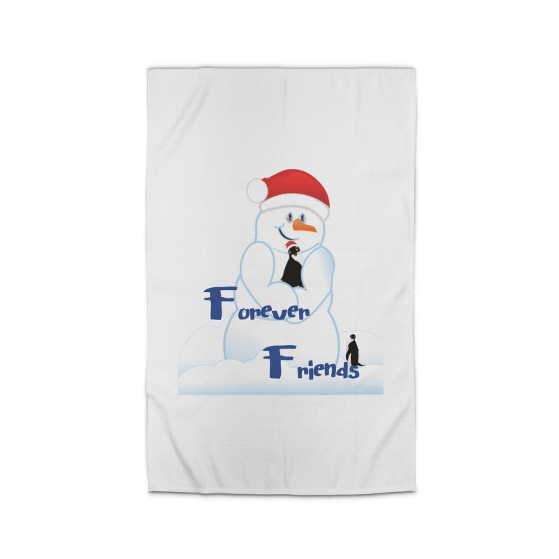 Forever Friends Home Rug by MyInspirationalGifts Artist Shop