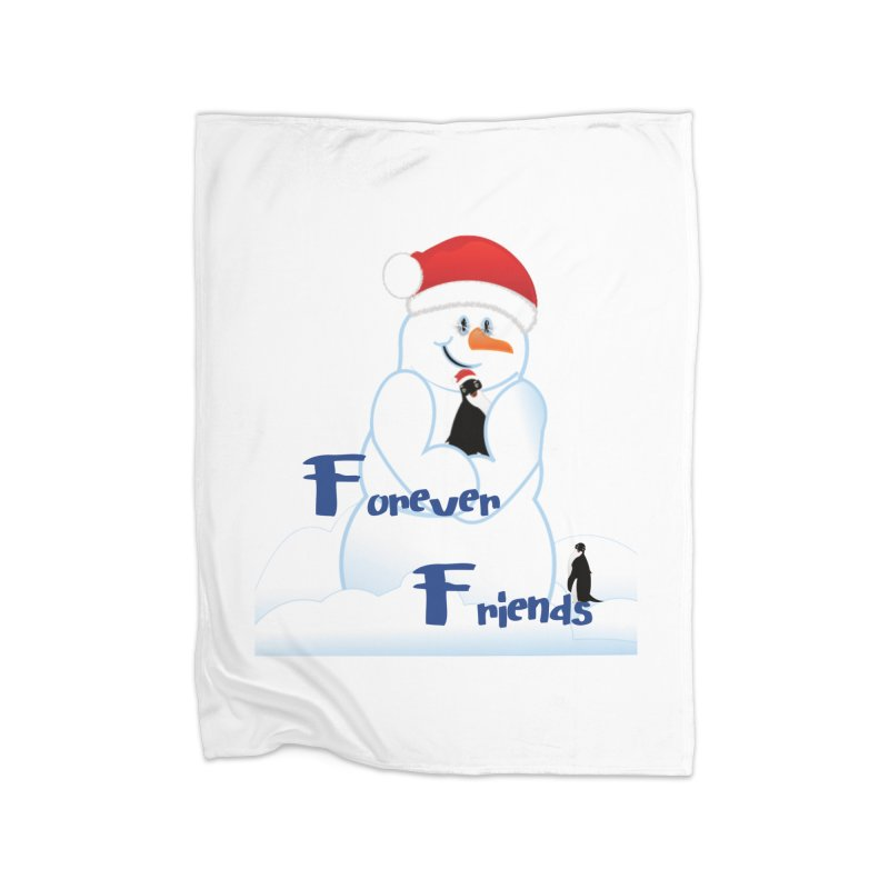 Forever Friends Home Blanket by MyInspirationalGifts Artist Shop