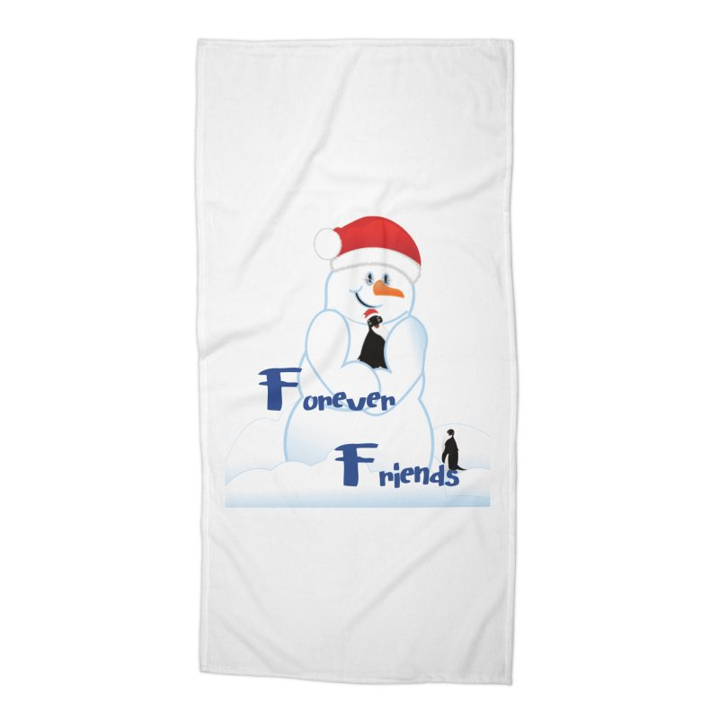 Forever Friends Accessories Beach Towel by MyInspirationalGifts Artist Shop