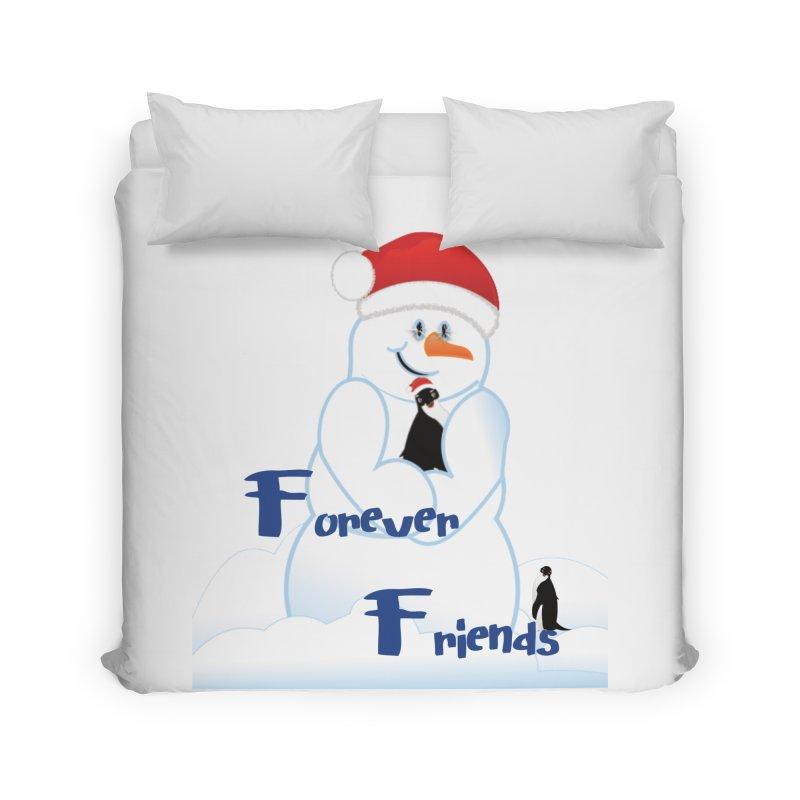 Forever Friends Home Duvet by MyInspirationalGifts Artist Shop
