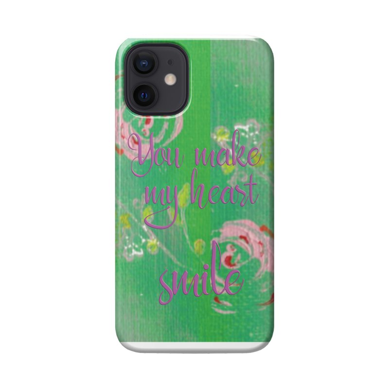 Heart Smile Accessories Phone Case by MyInspirationalGifts Artist Shop