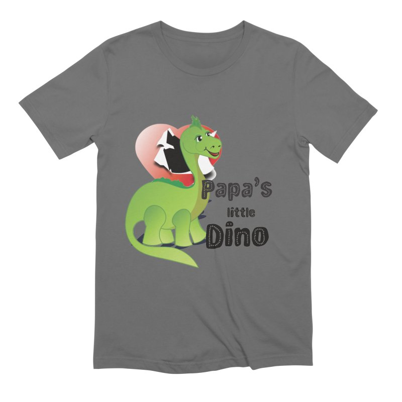 Little Dino Men's T-Shirt by MyInspirationalGifts Artist Shop