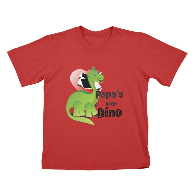 Little Dino Kids T-Shirt by MyInspirationalGifts Artist Shop