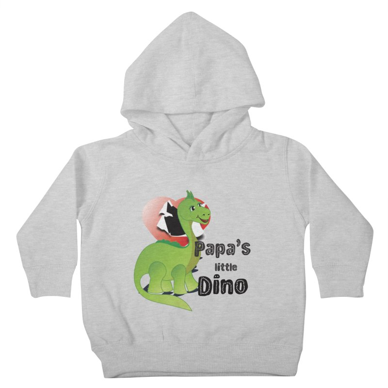 Little Dino Kids Toddler Pullover Hoody by MyInspirationalGifts Artist Shop