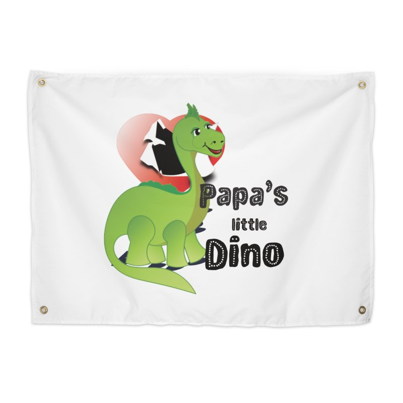 Little Dino Home Tapestry by MyInspirationalGifts Artist Shop