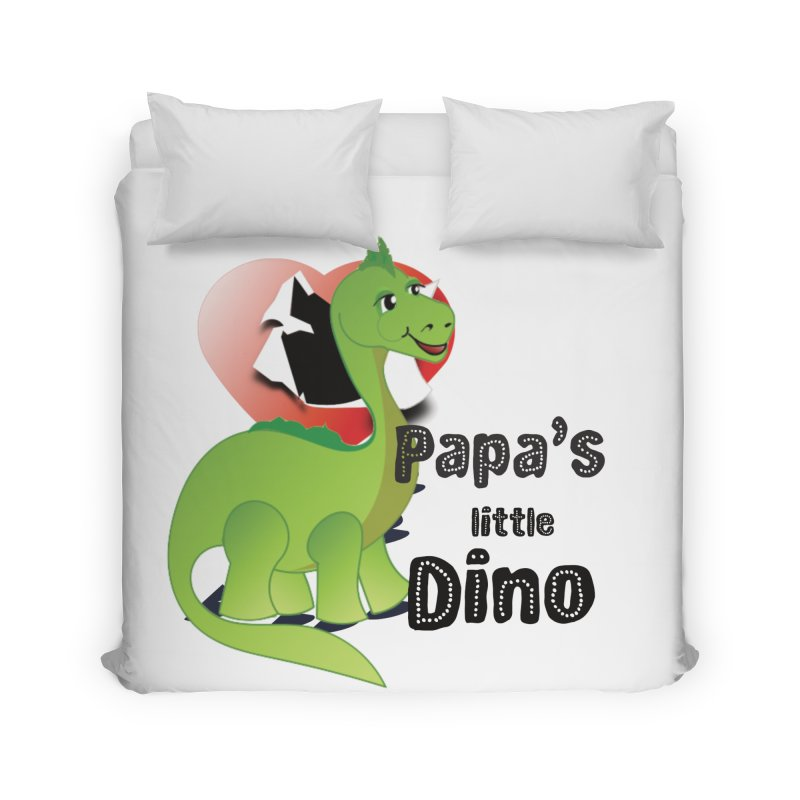 Little Dino Home Duvet by MyInspirationalGifts Artist Shop