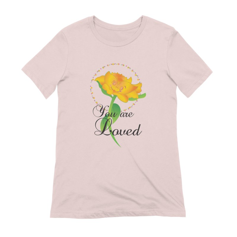 You are Loved Women's Extra Soft T-Shirt by MyInspirationalGifts Artist Shop