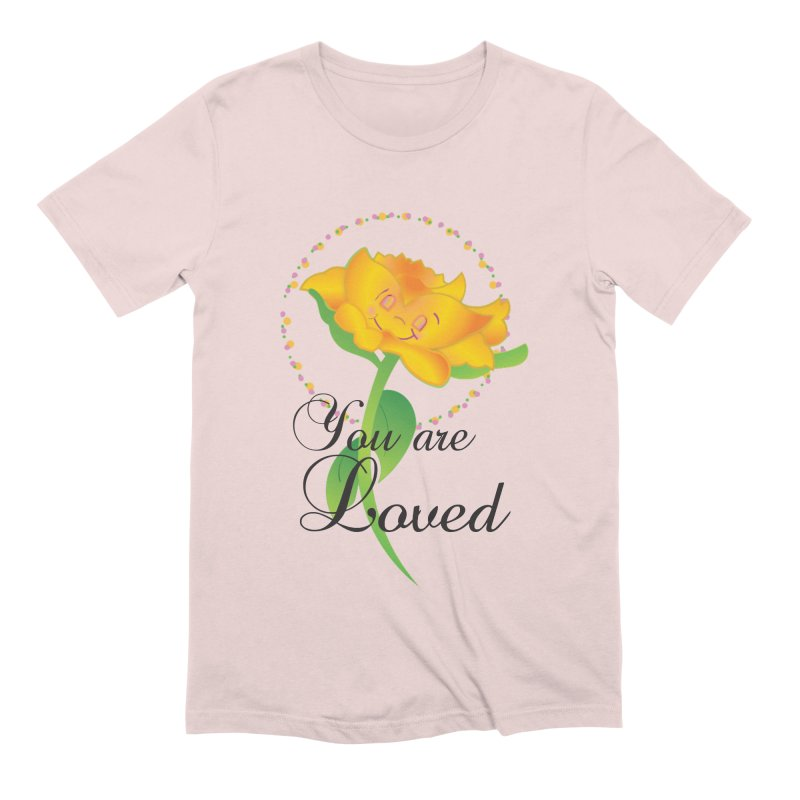 You are Loved Men's Extra Soft T-Shirt by MyInspirationalGifts Artist Shop