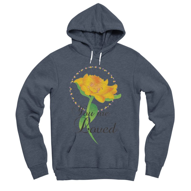 You are Loved Women's Sponge Fleece Pullover Hoody by MyInspirationalGifts Artist Shop