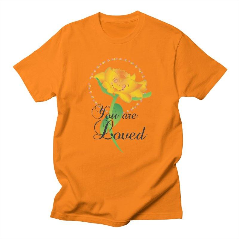 You are Loved Men's T-Shirt by MyInspirationalGifts Artist Shop