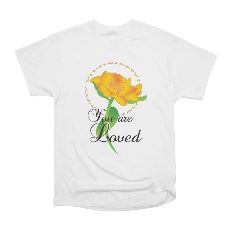 You are Loved Women's Heavyweight Unisex T-Shirt by MyInspirationalGifts Artist Shop
