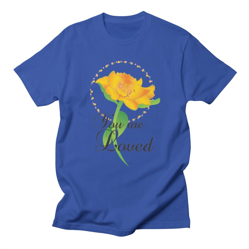 You are Loved Women's Regular Unisex T-Shirt by MyInspirationalGifts Artist Shop