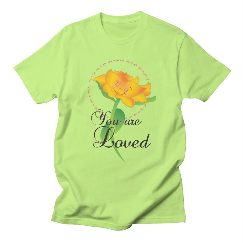 You are Loved Men's Regular T-Shirt by MyInspirationalGifts Artist Shop