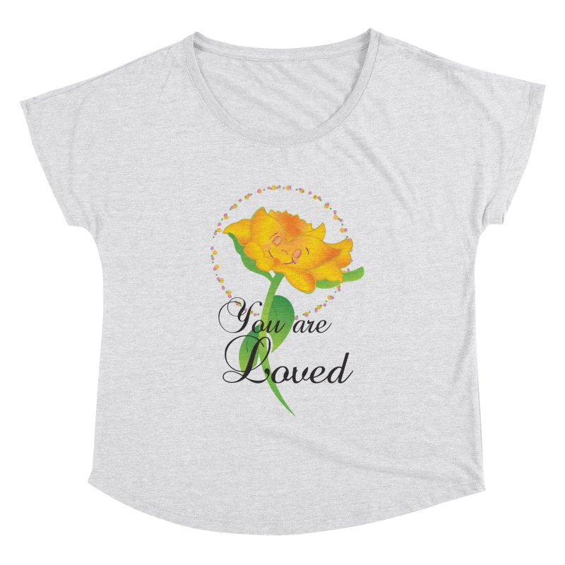 You are Loved Women's Scoop Neck by MyInspirationalGifts Artist Shop
